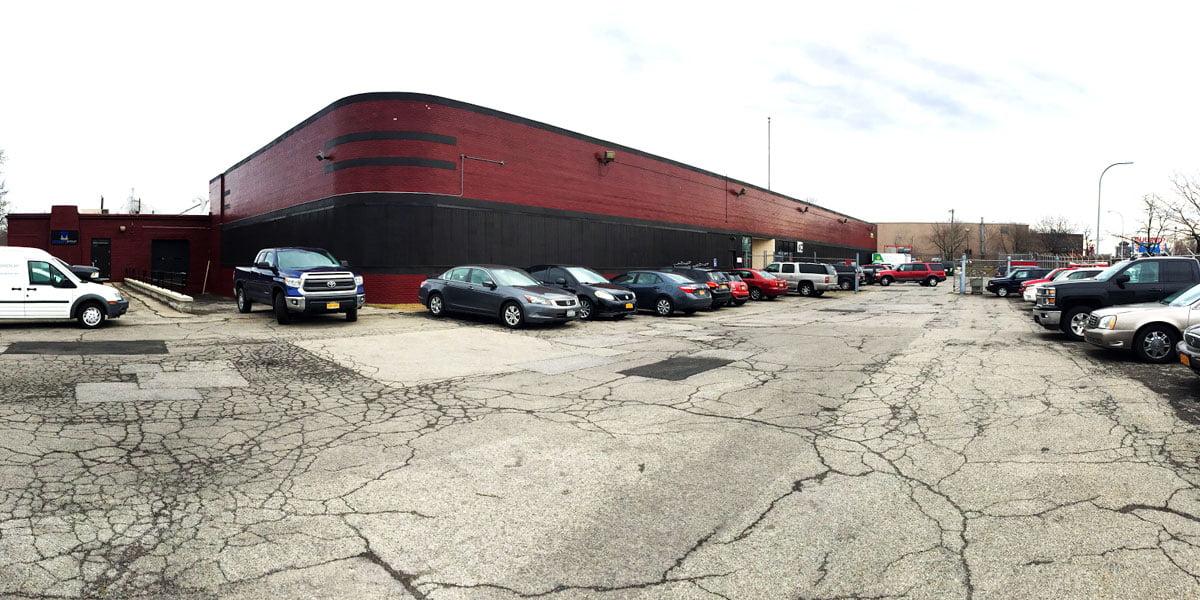 exterior parking lot
